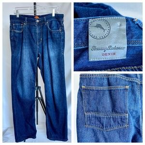 Tommy Bahama Cayman Relaxed Blue Jeans 33x30
